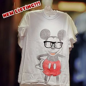 DISNEY PARKS MICKEY MOUSE GLASSES T-SHIRT